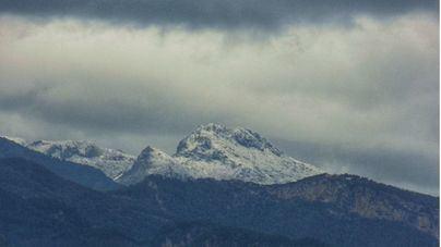 'Dora' deja las primeras nieves en la Serra