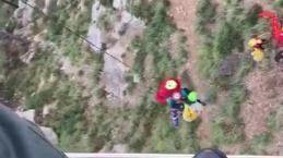 La Guardia Civil rescata en helicóptero a una mujer en el Port de Sóller