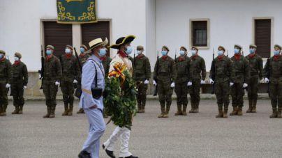 La Infantería celebra la Inmaculada en Palma sin invitados y con estrictas medidas anticovid