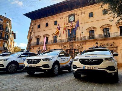 El PP de Palma alerta de la falta de emisoras en los nuevos coches de la Policía Local