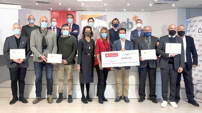 Geoma Cen gana el 'Premio CAEB-Santander a la Innovación Empresarial para Pymes 2020'
