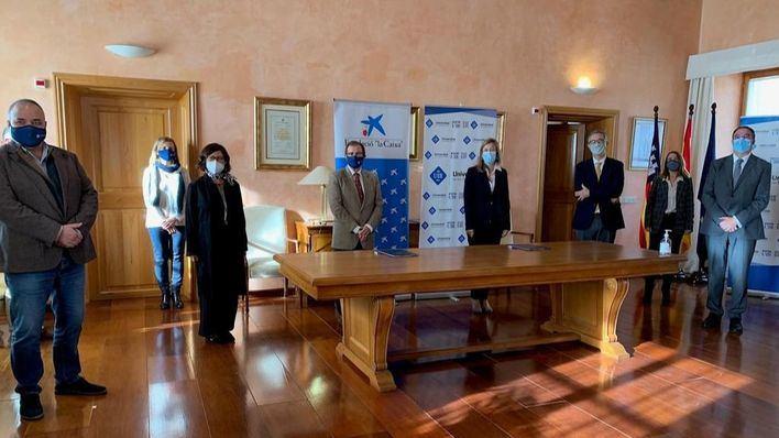 CaixaBank y la UIB colaboran en la creación de la Cátedra de Innovación Social
