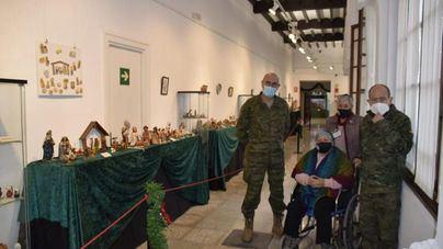 El Centro de Historia y Cultura Militar inaugura una exposición de 823 belenes de 54 países