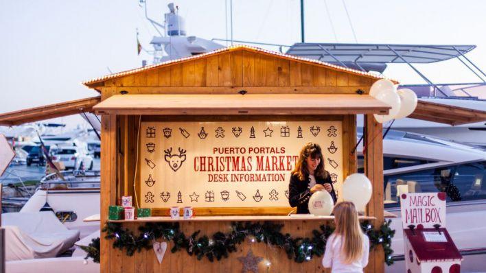 Puerto Portals suspende la Christmas Market a causa de los malos datos epidemiológicos