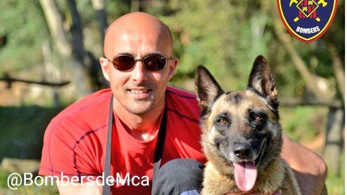 Fallece Noa, uno de los miembros más queridos del Cuerpo de Bomberos de Mallorca