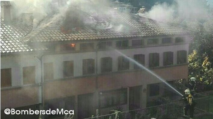 Juzgan a la mujer que incendió su casa cuando iba a ser desahuciada en Bunyola