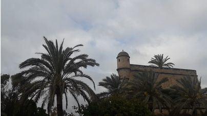 Cielos nubosos y cubiertos en Baleares