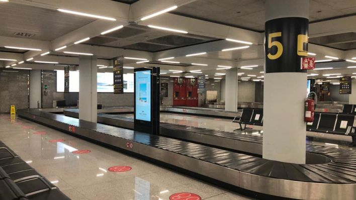 Son Sant Joan recibió un 80 por ciento menos de viajeros en noviembre que el mismo mes de 2019