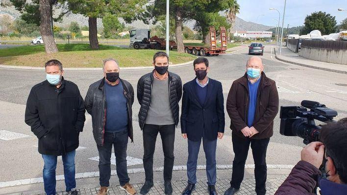 El Consell de Mallorca se compromete a acabar con dos puntos negros en Pollença