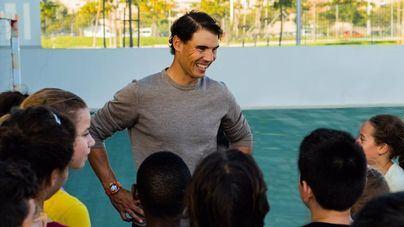 La Fundación San Pablo distingue a Rafa Nadal con su premio a la ética y los valores