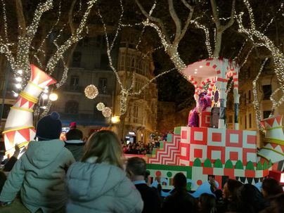 Cabalgata de Reyes en Palma: 135.000 euros y sólo cuatro carrozas