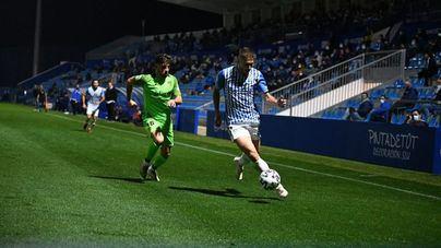 La falta de puntería pasa factura al Atlético Baleares frente al Fuenlabrada