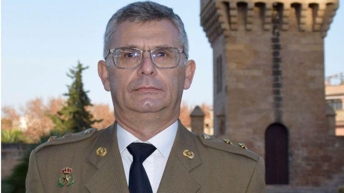 El teniente coronel Juan Torres Vázquez asume la jefatura del Estado Mayor de la Comandancia General de Baleares