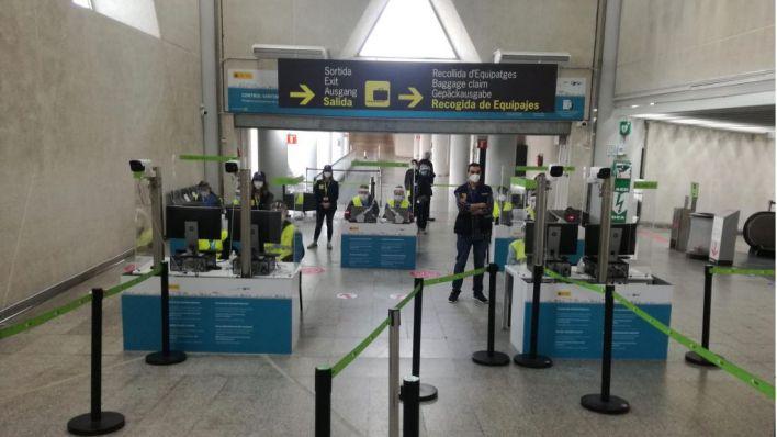 Baleares mantendrá los controles sanitarios a pasajeros hasta el 9 de mayo