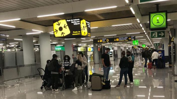 Palma superará los 500 vuelos este fin de semana en plena expansión de la Covid
