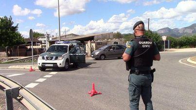 Detienen a un conductor en Inca por portar un revólver sin permisos ni licencia