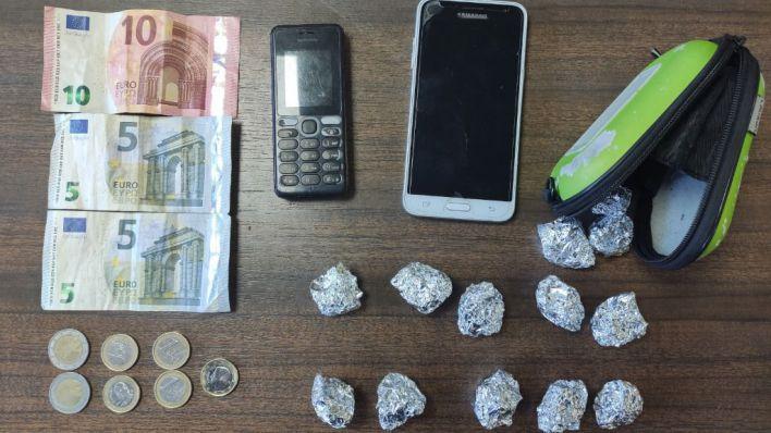 Tres detenidos en Son Gotleu por traficar con marihuana