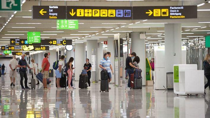 Los aeropuertos de Baleares pierden el 87 por ciento del tráfico de pasajeros