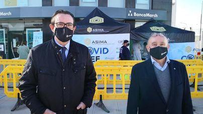 Campaña impulsada por Asima: Más de 150 personas se hacen test de antígenos en Can Valero