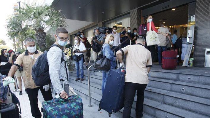 La ocupación hotelera se sitúa en el 15,5 por ciento de las plazas en Baleares durante noviembre