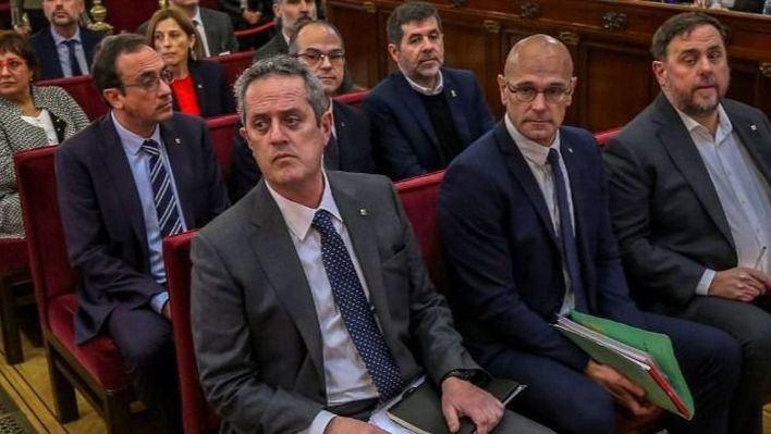 La Fiscalía rechaza indultar a los condenados por el 'procés'