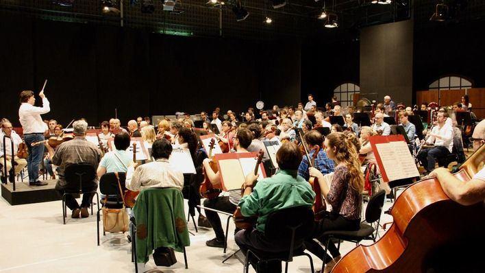 Mirella Hagen y Joji Hattori, en el concierto de año nuevo de la Simfònica