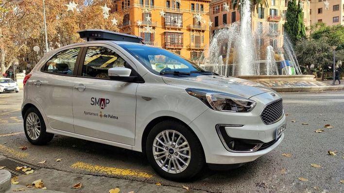 Cort estrena un coche con cámaras de infrarrojos para controlar los coches aparcados en la ORA