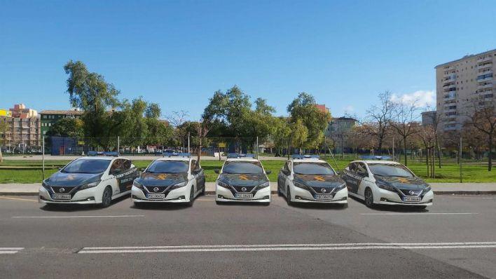 La Guardia Civil suma cinco vehículos eléctricos en Baleares