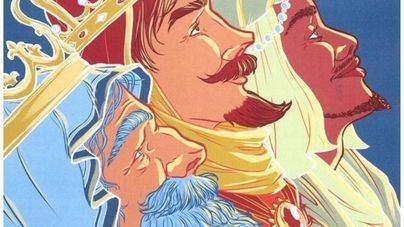 'Mirando la estrella' gana el concurso de carteles de la Cabalgata de Reyes de Palma