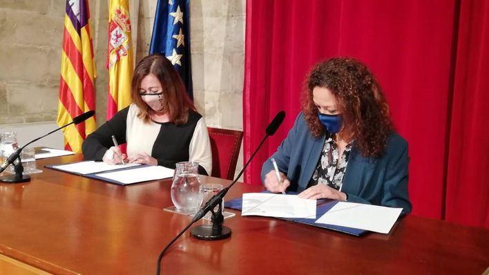 La 'cumbre' Govern-Consell se salda con el pago de 10 millones de euros al gobierno insular