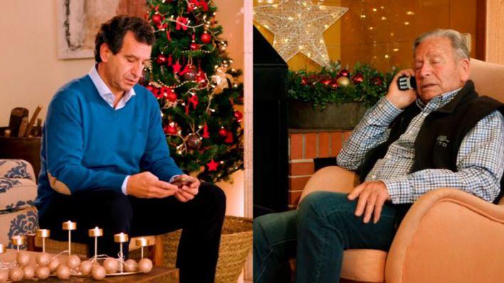 Company y su padre felicitan la Navidad con un vídeo en el que apelan a la responsabilidad