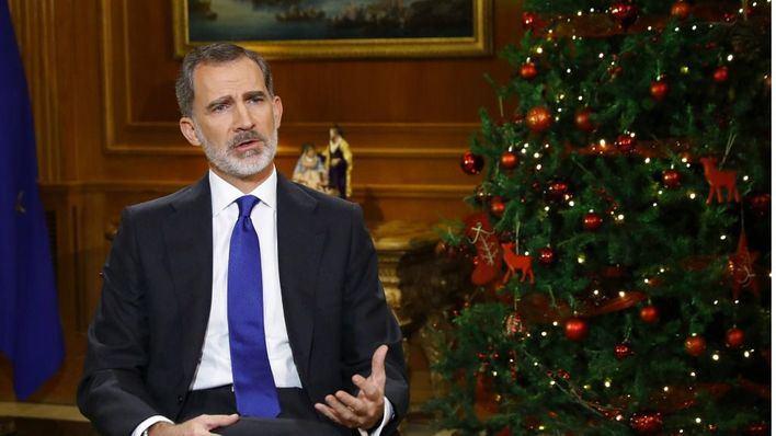 Récord de audiencia del discurso navideño del rey