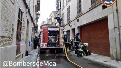 Un incendio obliga a desalojar un edificio en Manacor