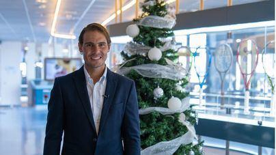 Nadal dona 3.000 kilos de comida al Banco de Alimentos de Mallorca