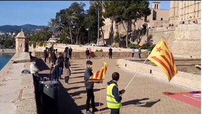 Cadena humana en Palma para reclamar