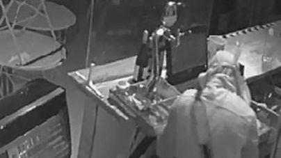 Detenidos tras robar en el interior de un local en Palma