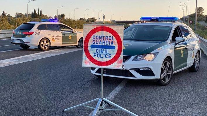 Dispositivo especial de la Guardia Civil para Nochevieja y Año Nuevo ante el aumento de contagios en Baleares