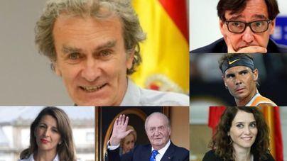 Los diez protagonistas del 2020 en España