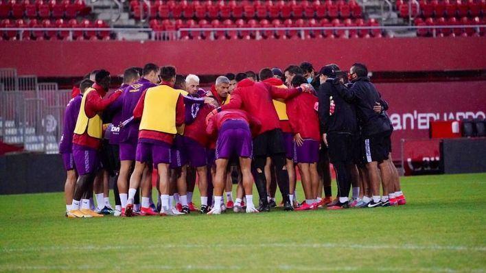 El Mallorca confirma un positivo por Covid 19 en el primer equipo