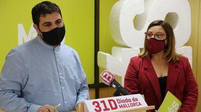 Diada de Mallorca: Més reivindica un nuevo sistema de financiación y el derecho a la autodeterminación