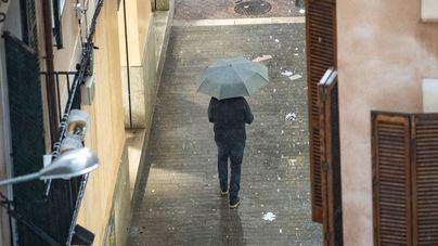 Mallorca estrena el año con previsión de lluvias, tormentas y granizo
