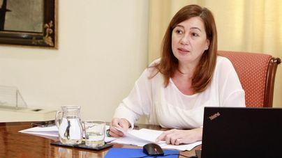 La presidenta del Govern califica 2020 de 'año durísimo' e invita a mantener viva la esperanza para 2021
