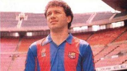 El exjugador del Barça Eusebio Sacristán, en coma inducido por una caída fortuita