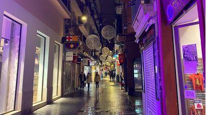 Afedeco critica a Cort por apagar las luces de Navidad tras el gasto que supuso su instalación
