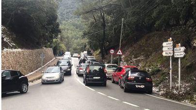 La Serra, colapsada de nuevo por la afluencia de gente