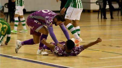 El Palma Futsal vence in extremis tras dejar escapar una ventaja de 3 goles