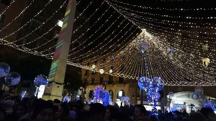 Hila sobre el apagado de las luces de Navidad: 'El objetivo es reducir la movilidad'