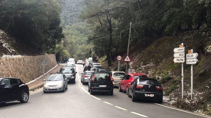 Reabren los tramos de carretera de la Serra cerrados el fin de semana