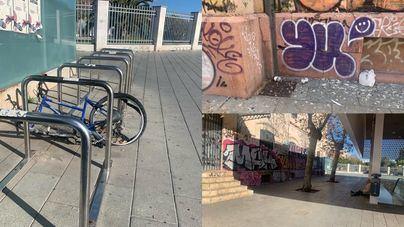 La degradación de Plaza España