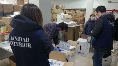 Baleares recibe otras 4.875 vacunas